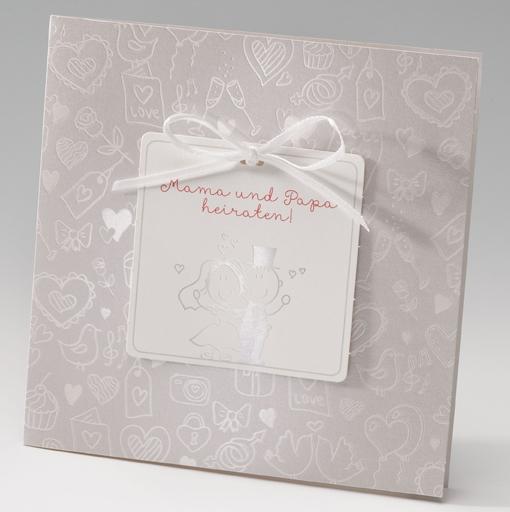 Traufkarte | Mama U0026 Papa Heiraten | Hochzeitskarten | Wedding Giveaways.de    Hochzeitskarten